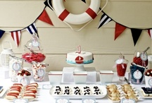 Nautical Party Baby Shower Ideas