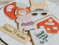 Back To School + Teacher Appreciation Ideas / In charge of Teacher Appreciation activities? Planning a Back to School party? You'll find tons of ideas here! Back to school party ideas, lunchbox notes, teacher appreciation gifts, and more! See it all at karaspartyideas.com