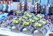Superhero Party Ideas | PJ Masks / Food | Decorations | Games | Favors | Ideas | Printables | Invitations | Girly | Cake | DIY | Centerpieces | Costume | Activities
