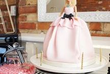 Barbie / Doll Birthday Party Ideas | Kara's Party Ideas / Barbie party ideas and doll party ideas for your girls party ideas! Barbie decor, Barbie cakes, Barbie party printables, and more! See more at karaspartyideas.com