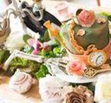 Alice In Wonderland Party Ideas | Kara's Party Ideas / Alice in Wonderland cakes, decor, and other party ideas! Mad Hatter party ideas, Cheshire Cat party ideas and more! See more at karaspartyideas.com