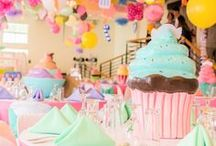 Candy Sweet Shoppe Party Ideas / All the candy, candy land, candy shop or sweet shoppe themed birthday party ideas you could ever desire! Food, decor, dessert, supplies, tips, tutorials, cakes, photos, cupcakes & more! See more at karaspartyideas.com