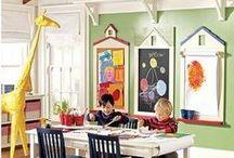 Home Inspiration - Kid's Play Room  / by Diana Leça