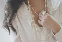 Ways to dress up in your pearls / Outfit Inspiration