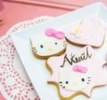 Hello Kitty Party Ideas / Hello Kitty party ideas, decorations, favors, games, DIY, free printables, cake ideas, and more!