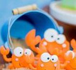 Ocean / Under the Sea Party Ideas / For Girls | For Kids | Simple | DIY | Sweet 16 | Games | Food | Decorations | Photo Booth