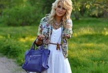 spring/summer fashion / by Amanda Price