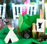 Peter Pan + Neverland Party Ideas / Decorations | Food | Games | Feathers | Lost Boys | Printables | Photo Booths | Favors | Kid Birthdays | Girls | Neverland Map | Crafts | DIY