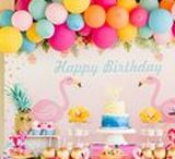 Flamingo Party Ideas | Pineapple Party Ideas / Decorations | Kids | Free Printable | Cakes | Dessert Table | Kate Spade | Crafts | Summer | Food