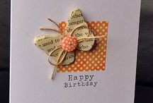 Birthday Cards - 9 / Variety of hand crafted Birthday cards / by Carol GoughLust