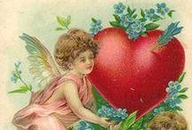 Vintage Valentines - 1 / by Carol GoughLust