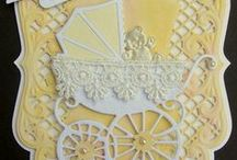 Baby Cards & Crafts - 6 / Hand-made baby cards & crafts / by Carol GoughLust