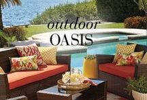 looks we LOVE: Outdoor Oasis / looks we LOVE: Carefully curated ideas for every space / by BrylaneHome