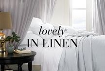 looks we LOVE: Lovely in Linen / looks we LOVE: Carefully curated ideas for every space  / by BrylaneHome