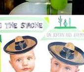 Joint Party Ideas / Brother Sister | Adults | Boys | Photo Booth | Kids | Fun | Dessert Table | Shower Invitations