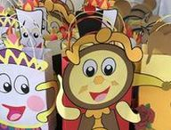 Beauty and the Beast Party Ideas / Decoration | Theme | Favors | Birthday | Food | Invitations | DIY | Cake | Games | For Kids | Belle