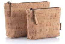 Cork Fabric / These are all items made of cork fabric or patterns that could be used with cork fabric.