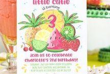 Fruity Party Ideas | Watermelon | Strawberry / Decoration | For Kids | Finger Foods | Banana Split | Snacks | Desserts | Potlucks | Girls Night | Treats