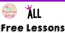 All Free Lessons @TpT / This is a collaborative board from TpT sellers for free products. Just email at missfaleena@gmail.com to join or message me through Pinterest. Thank you for your contributions! Happy pinning!