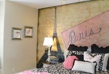 Paris room for Riley / by Melanie Souza Guffey