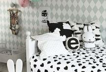 Bedrooms for little people / Creative décor ideas for your little special someone.