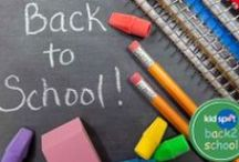 Back to school / Preparing children for heading back to school after the summer can be tough. Here are tips for getting back into routine, lunch ideas and helping with important social skills.