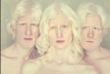 Albinos / It's a common myth that all albinos have red eyes, a myth easily dispelled by these stunning portraits by Gustavo Lacerda. Since 2009 Lacerda, a São Paulo-based fine art photographer, has been researching and approaching albinos to photograph in his studio.