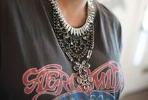 Around the Neck / Necklaces both delicate and bold / by Carrie Dann