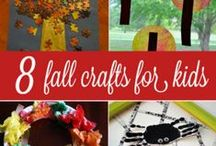 Fall crafts for kids & adults