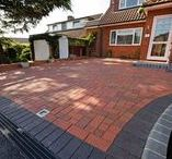 Clay Paver Patios and Driveways