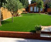 Artificial Grass Ideas / Artificial grass is a great way to keep your garden looking good all year around. Diamond Services can help you choose, design and fit artificial grass that gives you the look you want.