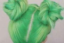 hair inspo ✂️ / let me grow it, dye it, cut it, curl it and do it all over again