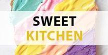 TURN ON Sweet Kitchen / Süße Träume werden hier erfüllt! Entdecke neue Backrezepte, leckere Desserts und schöne Backideen.