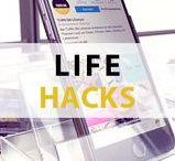 TURN ON Life Hacks / Entdecke hier die besten Life-Hacks für alle Lebensbereiche, die dir helfen, das Leben einfacher zu gestalten! :)