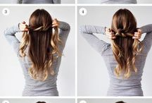 Hairstyles / In this pin, there ara hairstyle