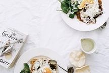 Breakfast in Bed / Recipe ideas and inspiration to make the most of those lazy mornings in bed.