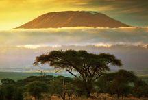 Kilamanjaro mountain / A trip to take before you die