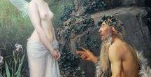 Ovidio / Imágenes basadas en la obra de Ovidio y en los mitos griegos populares.