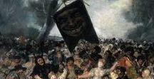 Populismo / Imágenes donde se representan escenas populares, tradicionales, costumbristas o de manifestación colectiva.
