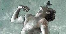 Píndaro / Imágenes que evocan el mundo de las fábulas protagonizadas por ninfas y faunos.
