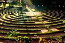 Sacred Paths | Mostly Labyrinths / Labyrinths and Other Sacred Paths. Images pinned from people across denominations.