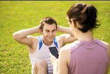 Fitness au masculin / Tout sur la santé des hommes: exercices fitness et astuces santé / by Plaisirs santé