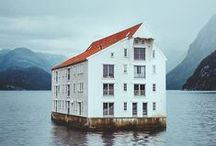 architecture / lovely homes and buildings / by Jaffrey Bagge