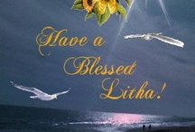 Litha/Summer Solstice  June 21 / (Midsummer, Summer Solstice, June 20-23, dependent on actual astronomical event) Held on the longest day of the year, the Solstice is the celebration of light's triumph over darkness and that of the bountiful beauty that light brings into life. Flowers are common in the circle, roses and bright cheerful wildflowers are upon the altar and usually worn by all.   It is the changing point of the year, and the celebration of the spiral dance of the year is common among Wiccans.
