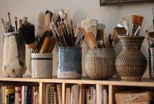 Work Space/ Art Studio