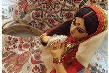 Kantha Art Love