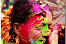 HOLI : The Indian Festival of Colors / India, Color, People, Festival, Life, Celebration, Beauty