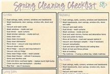 Spring cleaning ♥ / by Morgan Mattheyer