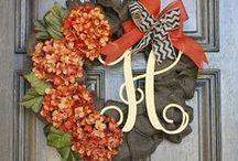 wreaths / by Morgan Mattheyer