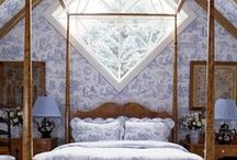 Beautiful Bedrooms / Beautiful Bedrooms to inspire a good night's beauty sleep! Gorgeous bedroom decor and bedroom furniture  from antique beds to nightstands.